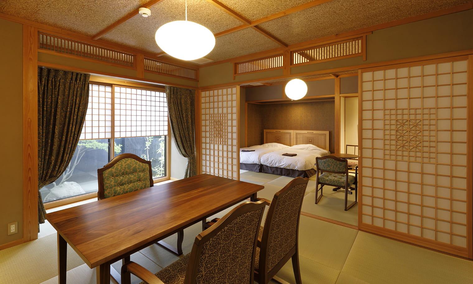 草庵秋桜 本館 内湯付き 部屋の内装イメージ