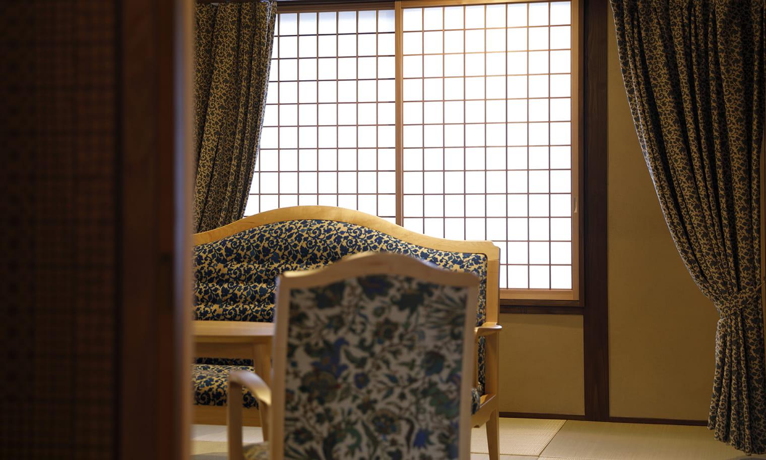 草庵秋桜 本館 和室(二間) 内装イメージ