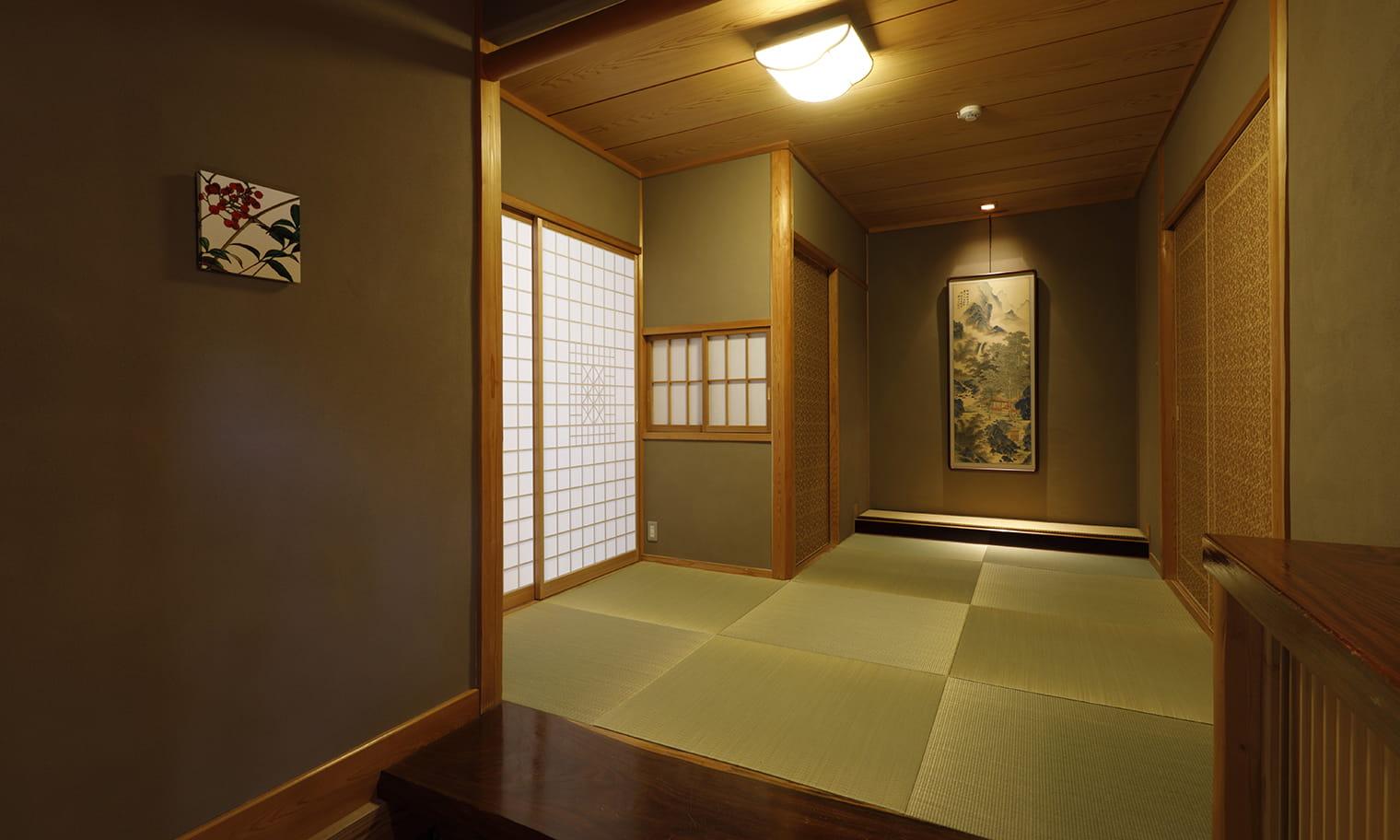 草庵秋桜 離れ特別室 内装イメージ